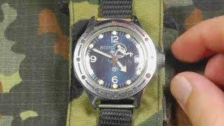 Часы Восток Амфибия СССР. Обзор и мнение