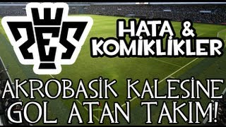 PES 2011 | Akrobasik kalesine gol atan takım!