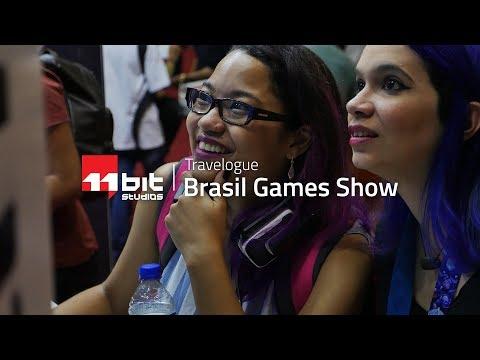 Rainy days in Brazil! | Brasil Game Show 2017 Travelogue
