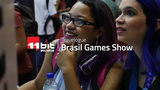 Rainy days in Brazil! | Brasil Game Show 2017 Travelogue
