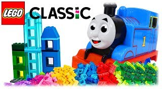 LEGO Classic 10703 Creative Builder Box, Build Multi-Storey House with Thomas the Train