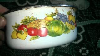 Железная миска для салата