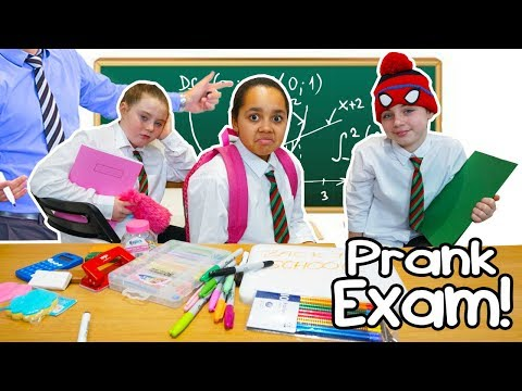 TIANAS FIRST DAY OF SCHOOL PRANK ON TEACHER