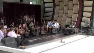 Cameron Tummel in CalArts World Percussion Ensemble 5/3/14