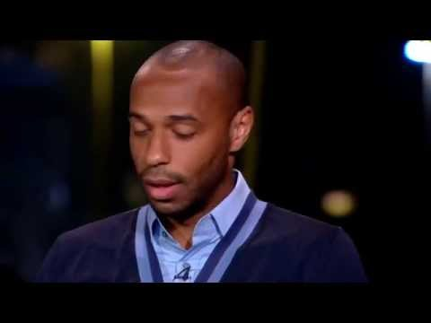 Thierry Henry talking about Andrea Pirlo & Steven Gerrard