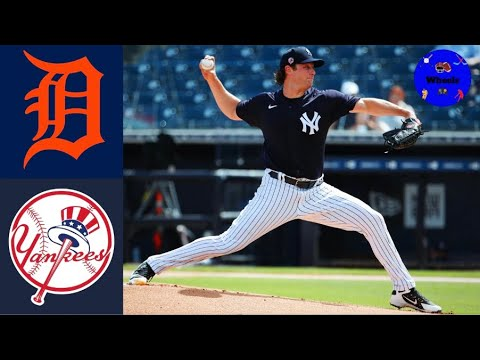 Download Yankees vs Tigers Highlights (Gerrit Cole Started!)   2021 MLB Spring Training Highlights