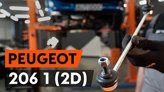 Watch our video guide about PEUGEOT Anti roll bar stabiliser kit troubleshooting