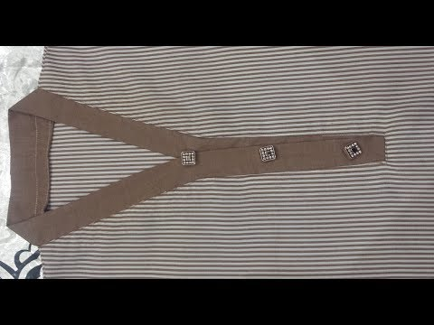 How To Sew A Collar Suit Neck Design | Stitching Tutorial In Urdu | Hindi