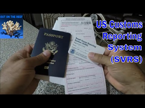 US Customs and Bahamas Immigration Forms and SVRS Miami to Bimini