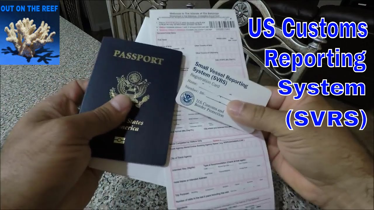 US Customs And Bahamas Immigration Forms And SVRS Miami To Bimini - Us customs miami map