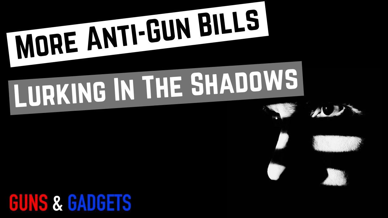 More Gun Control Lurking In The Shadows