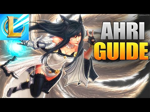 Ahri Gameplay Guide In League Of Legends Wild Rift