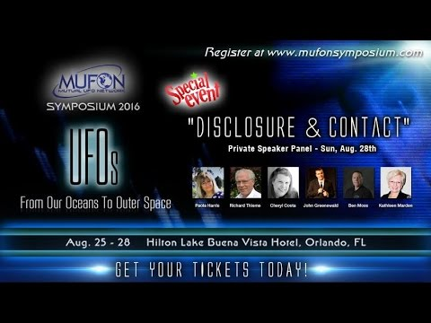 "Private Speaker Panel - ""Disclosure and Contact"""