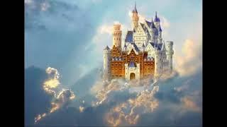 der står et slot i vesterled
