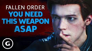 Star Wars Jedi: Fallen Order - How To Get The Double-Bladed Lightsaber Early
