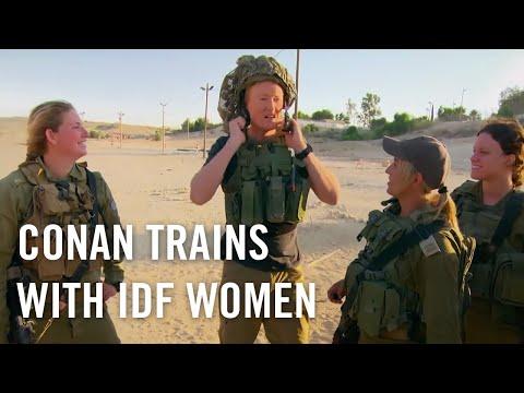 When Conan Met The Women Of The IDF