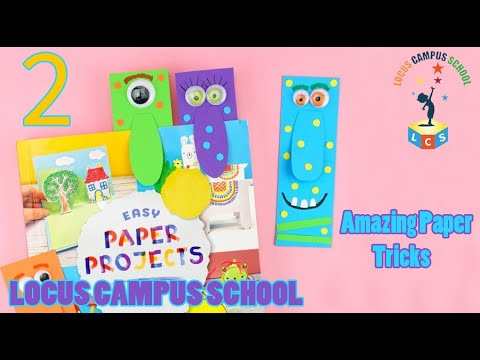 Paper Cutting Art for Kids | Paper Folding Projects By Lcs
