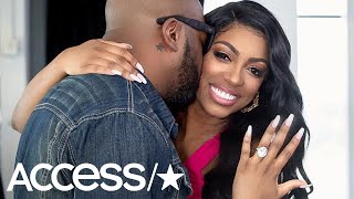 Pregnant 'RHOA' Star Porsha Williams Is Engaged To Boyfriend Dennis McKinley