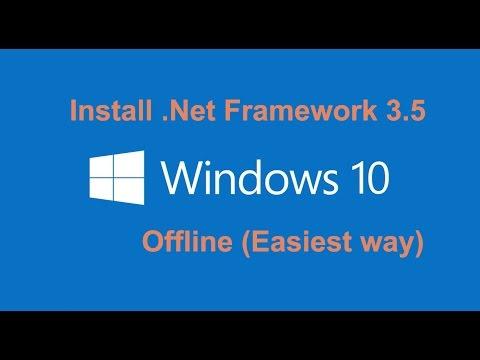 How To Install  .Net Framework 3.5 On Windows 10 Offline