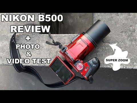 Nikon B500 REVIEW - BEST Beginner zoom camera (Point & shoot) 2018! Photo + Video TEST!
