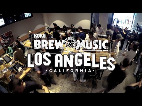 Brew Music with Korg: Arts District Brewing Co  of Los Angeles, California