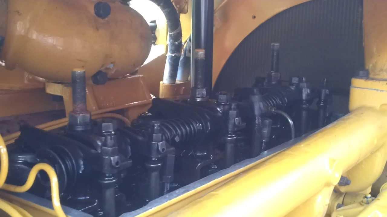 Cat D8h 36a D342 Engine Running After Valve Re Adjustment