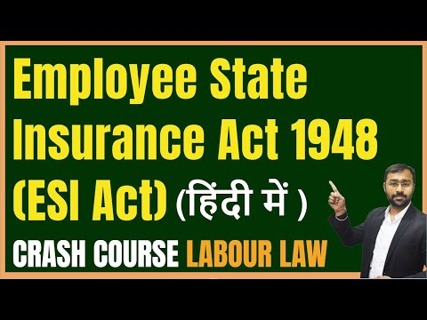 Employee State Insurance Act 1948 (ESI Act) Explained with Calculation & Example