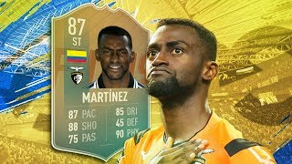 FIFA 19 Flashback Martinez Review - is he worth it? | Fifa 19 87 Flashback Martinez Player Review