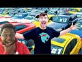 Gambar cover MRBEAST I Gave My 40,000,000th Subscriber 40 Cars REACTION