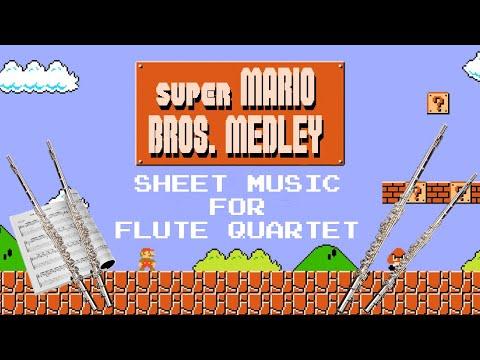 Super Mario Bros. Medley - Flute Quartet