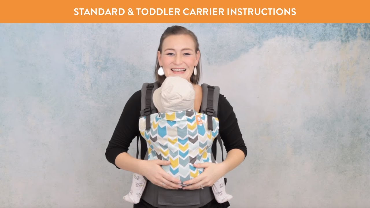 4c129722b Tula Baby Carrier Front Carry Instructions - How to Use Baby Carrier ...
