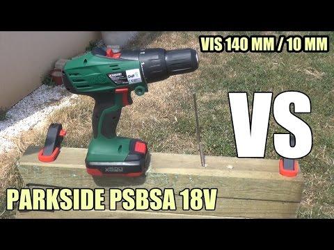 Parkside pabs 18 li b4 hard test vs milwaukee m12 bpd for Avvitatore parkside 18v
