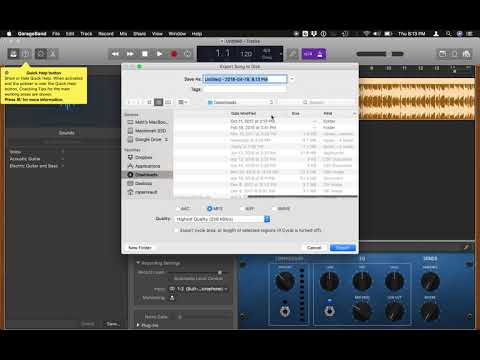 How to convert an M4A (iTunes) audio file into an MP3 for free