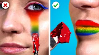 Creative Painting Tricks and Hacks ! 15 Cool and Funny DIY Art Ideas by Crafty Panda
