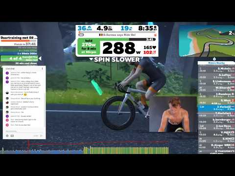 COMPUTER CRASHED, THE REMAINDER OF 3HOURS ZWIFT! - # indoor cycling