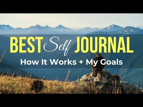 Best Self Co Journal: How To Use + My Goals - Thrive Series EP3