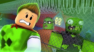 ARE THE ZOMBIES GOING TO CATCH ME?! -ROBLOX