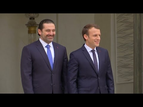 Former Lebanon Prime Minister meets with President Macron in France following hostage rumours