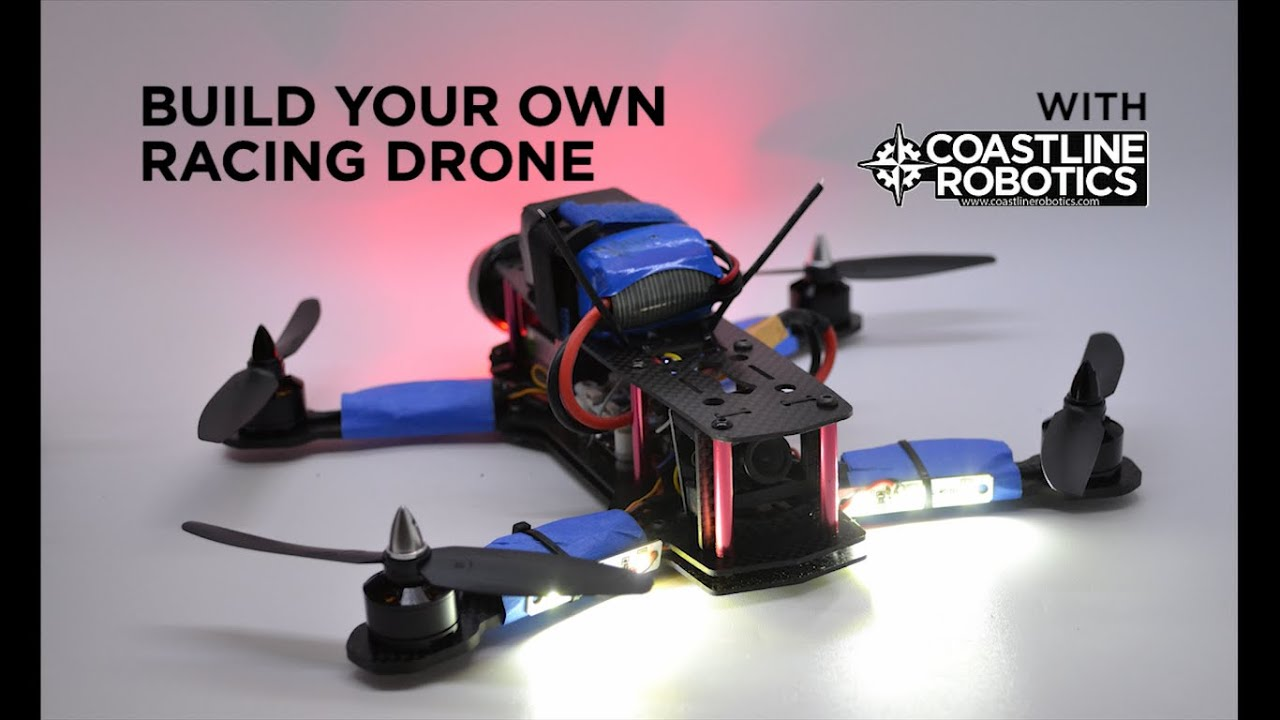 Build Your Own Racing Drone Part 1 ZMR250 DIY