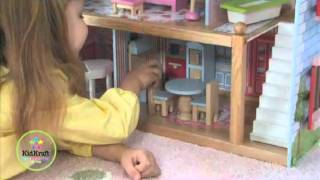 Wooden Dollhouse Chelsea By Kidkraft At Http://wooden-toys-direct.co.uk