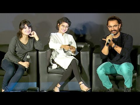 Secret Superstar Movie Trailer Launch Full Video HD - Aamir
