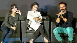 Secret Superstar Movie Trailer Launch Full Video HD - Aamir Khan,Kiran Rao,Zaira Wasim