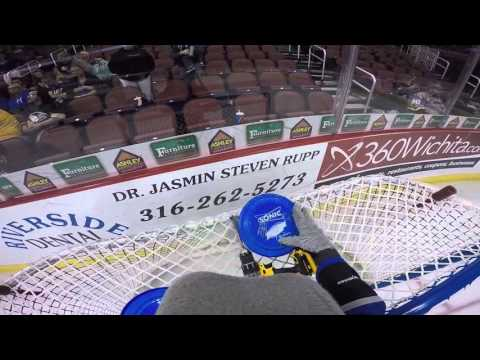 Wichita Thunder Mascot GoPro Footage