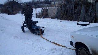 самодельный снегоход из Ижа 2