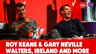 WATCH: Roy Keane and Gary Neville on Jon Walters, Brian Clough, Irish fallout | #CadburyFC