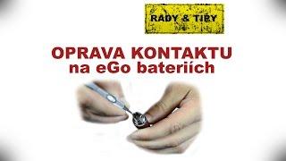 Oprava baterie do elektronické cigarety - Elcigon.cz