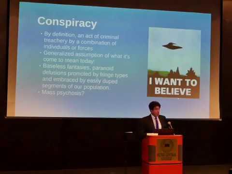David Denton, Kennedy Assassination speech, OCC 11/14/2017 pt 1
