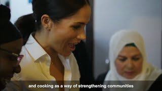 VIDEO: Meghan Speaks On NEW Grenfell Cookbook First Solo Project 2018