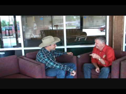 F Troop interview visit with Bugler Dobbs James Hampton