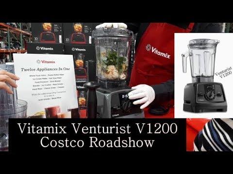 2018 Bluetooth Vitamix W Smart Venturist V1200 Costco Demo